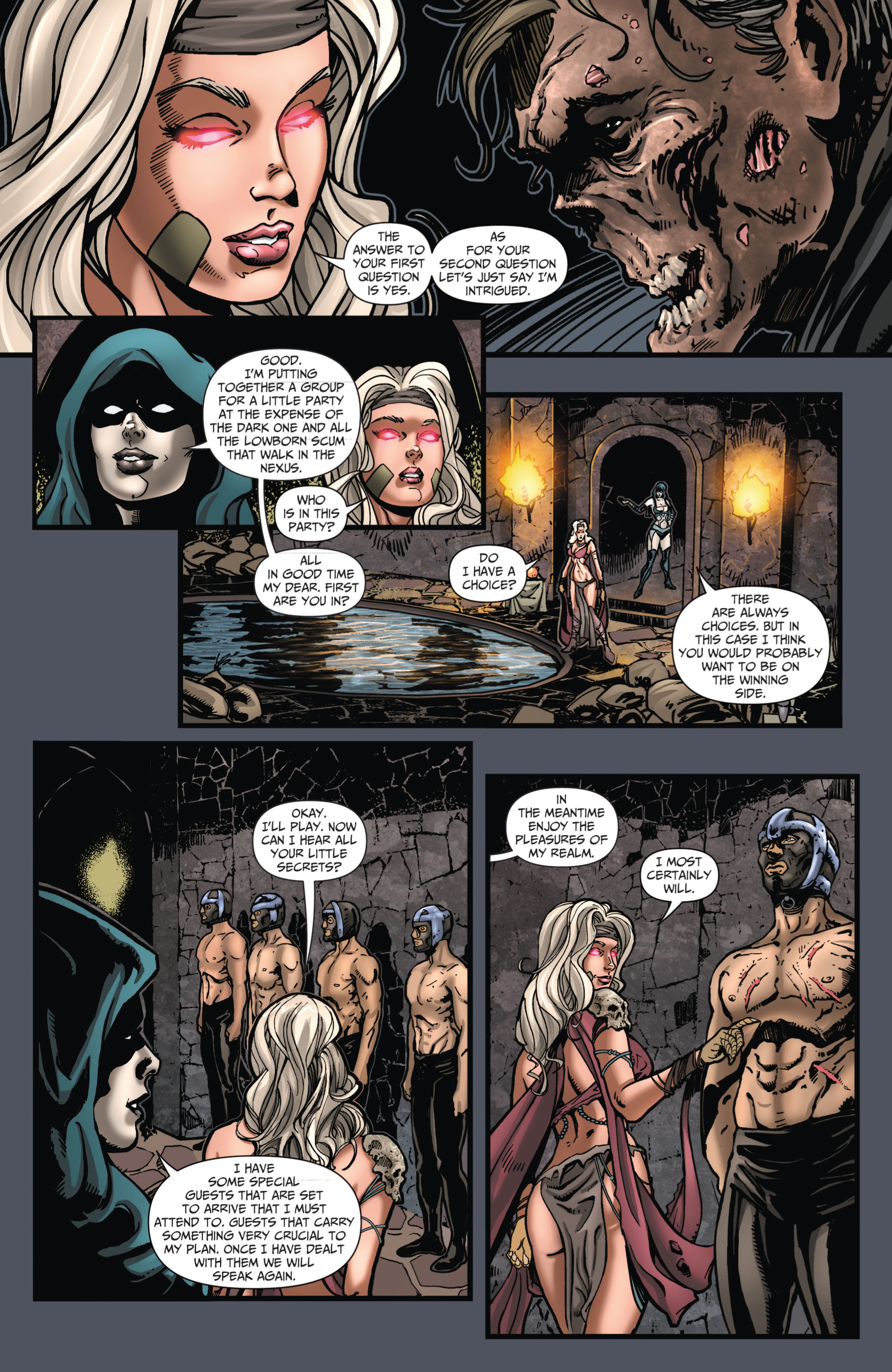 Grimm Fairy Tales (2005) Issue #66 #69 - English 11