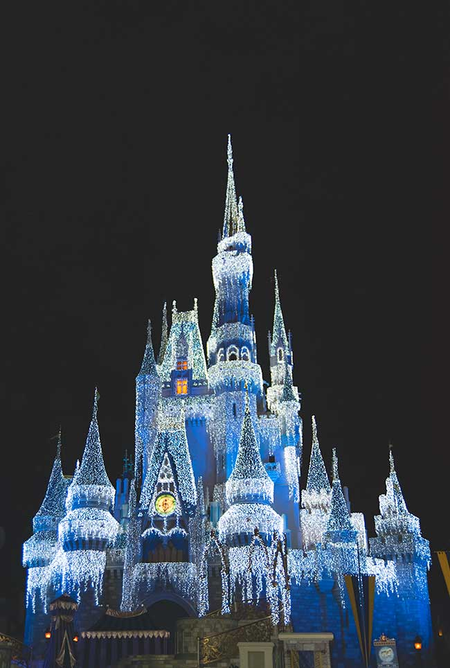 Proyecto 52/10 Castillo Magic Kingdom