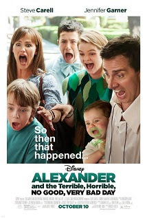 Alexander y el día terrible, horrible, espantoso, horroroso <br><span class='font12 dBlock'><i>(Alexander and the Terrible, Horrible, No Good, Very Bad Day )</i></span>