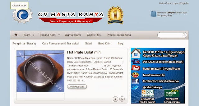 toko online perlengkapan masak logam