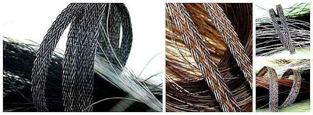 tailhair ribbon 'tweed'