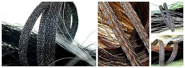 tailhair ribbon 'tweed'