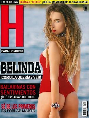 Fotos Belinda Revista H para Hombres Diciembre 2014