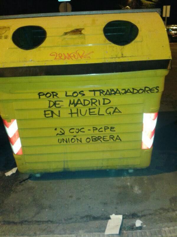 [PCPE-CJC] Trabajadores de limpieza y su lucha obrera en Madrid  IMG-20131107-WA0000