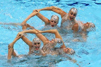 medalla de bronce Natacion Sincronizada femenina equipo español Juegos Olímpicos de Londres 2012
