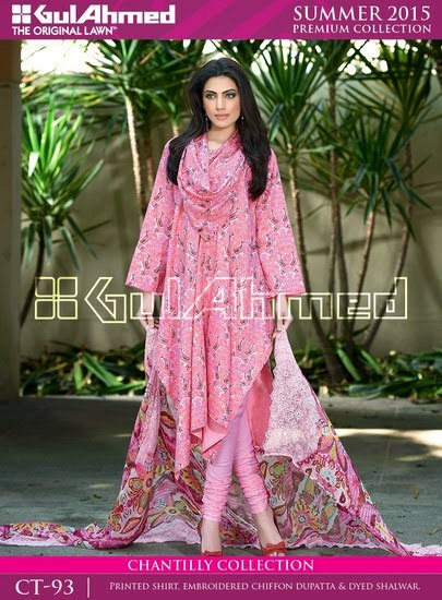Chantilly De Chiffon Summer Collection by Gul Ahmed 10