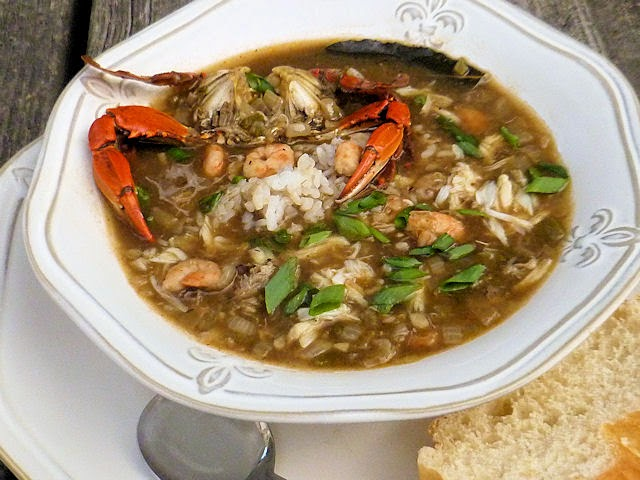 Crab & Shrimp Gumbo