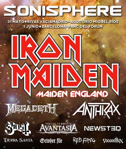 Festival Madrid Iron Maiden