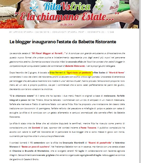 http://blog.dellanesta.it/2013/06/24/le-blogger-inaugurano-lestate-da-babette-ristorante/