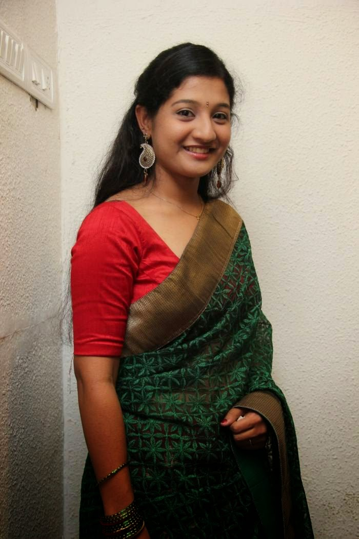 Actress Sri Raksha Latest Cute Hot Saree Navel Show Spicy Photos Gallery At Ore Oru Raja Mokka Raja Movie Audio Launch