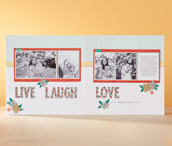 May Stamp of the Month:  Live, Love, Laugh  ( S1705)