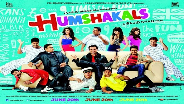 Humshakals Upcoming Movie Poster