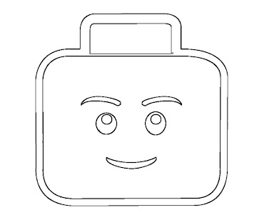#3 Lego Coloring Page