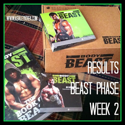 Body Beast Woman's Results