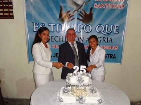 Las Iglesias Jehová Justicia Nuestra celebran 25 años de La Tribuna