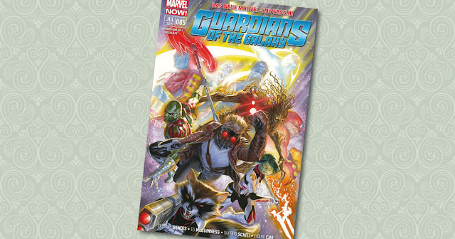 Guardians of the Galaxy 5 Panini Cover