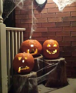 Halloween pumpkins, jack-o-lanterns