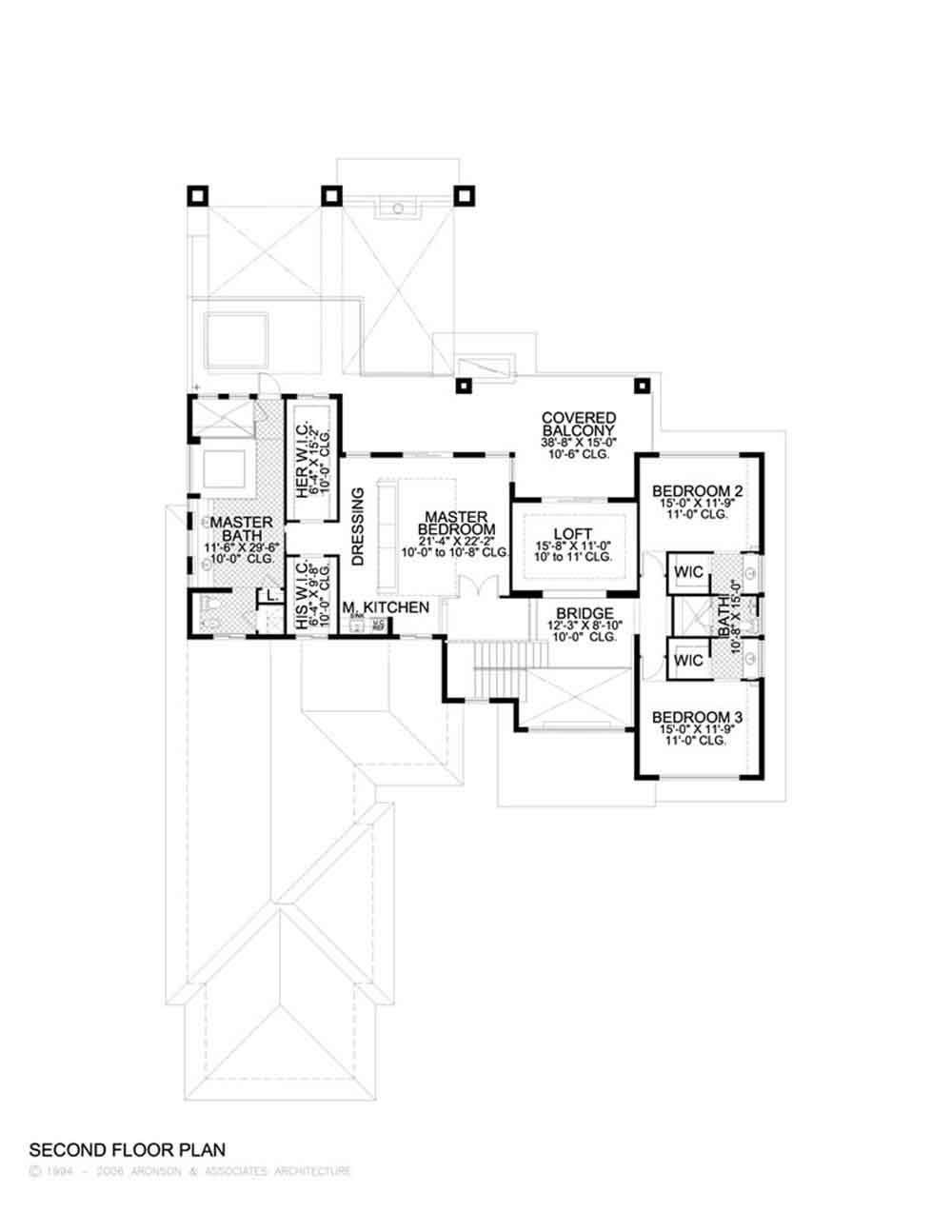 Planos y fachada de una casa habitaci n moderna de 2 for Planos en linea