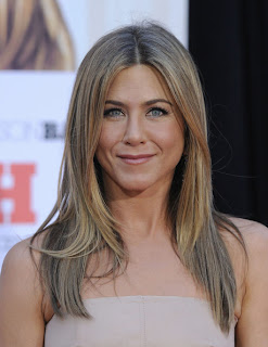 Jennifer Aniston long hairstyle at the Premiere of The Switch