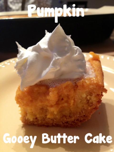 worthyoftheprize.com: Paula Deen (Pumpkin) Gooey Butter Cake