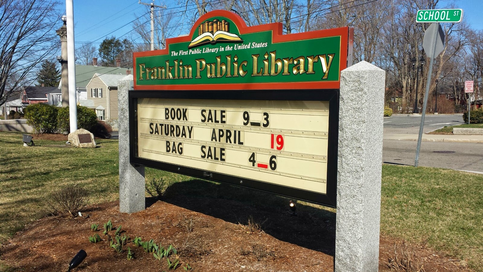 Library Book Sale - Sat April 19th