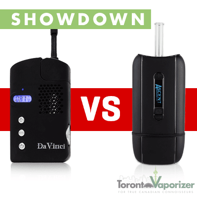 Ascent vs DaVinci (Original) Vaporizer, Vape Showdown