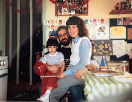 Piper and I with Jamie in the early '80's...