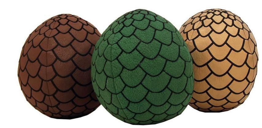 Peluches Huevos de Dragón