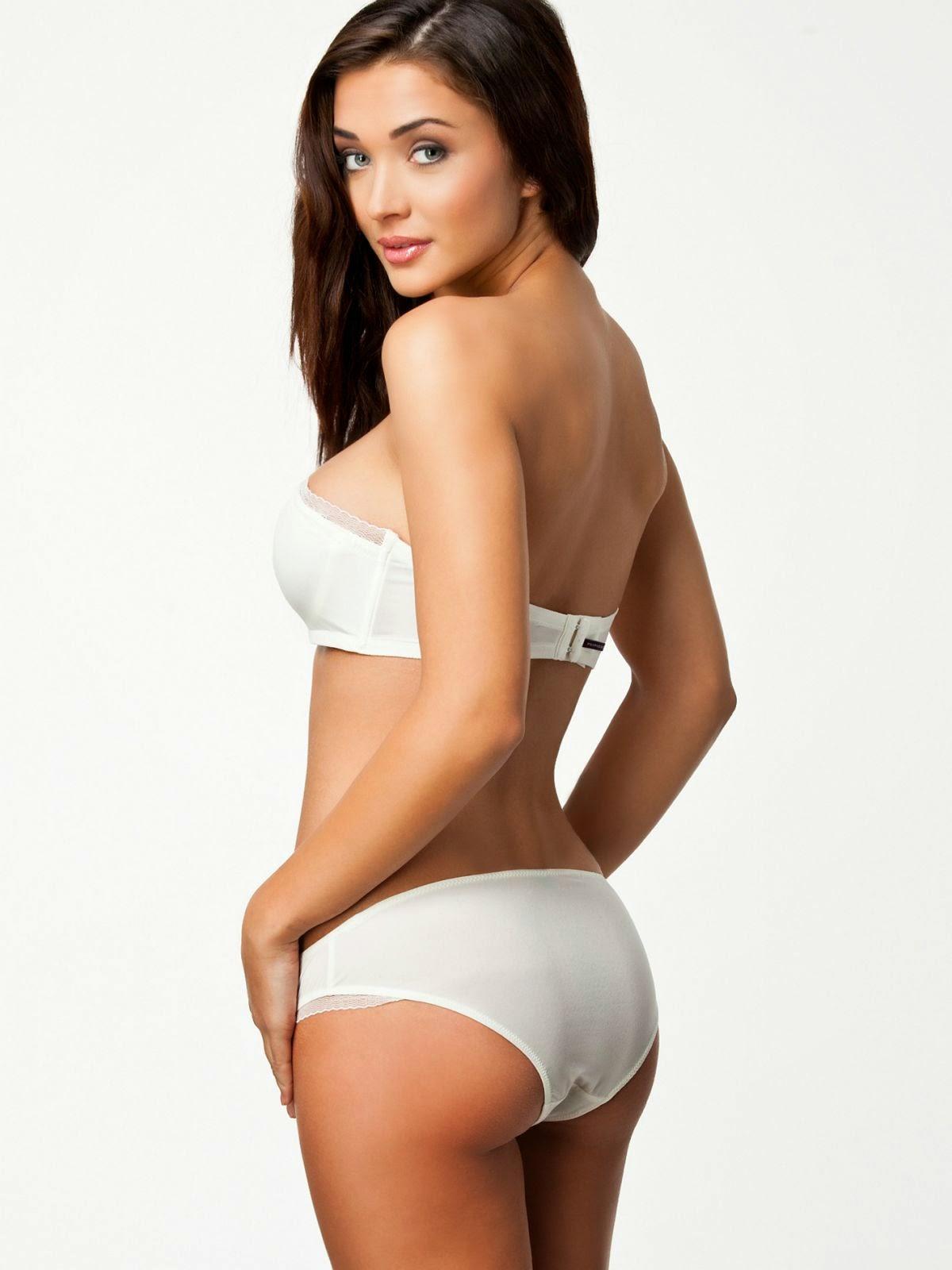 Amy Jackson Erotic Bikini Photoshoot For Nelly Swimwear