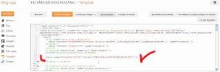 Mem-paste kode script dari situs Alexa