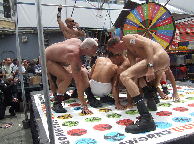 Gay Nude Twister