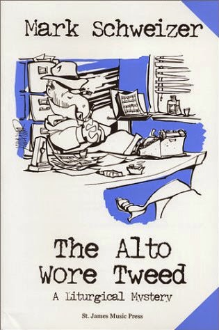 The Alto Wore Tweed by Mark Schweizer