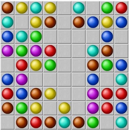 Hi Coloured Lines Game