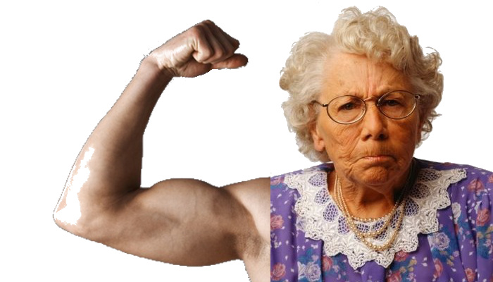 the complacency chronicles: column: old lady fight