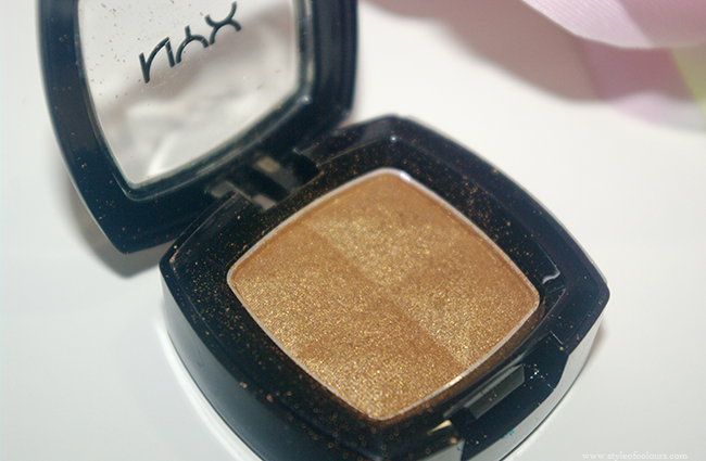 NYX Eyeshadow in ES12 Shimmer Gold