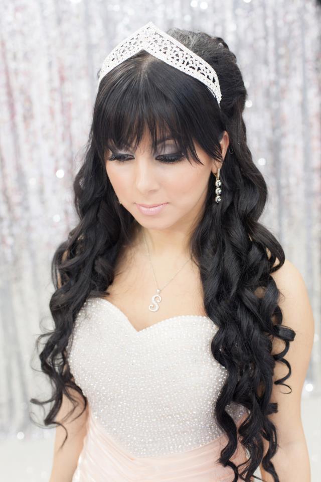 Свадебные прически с челкой на длинные волосы своими руками