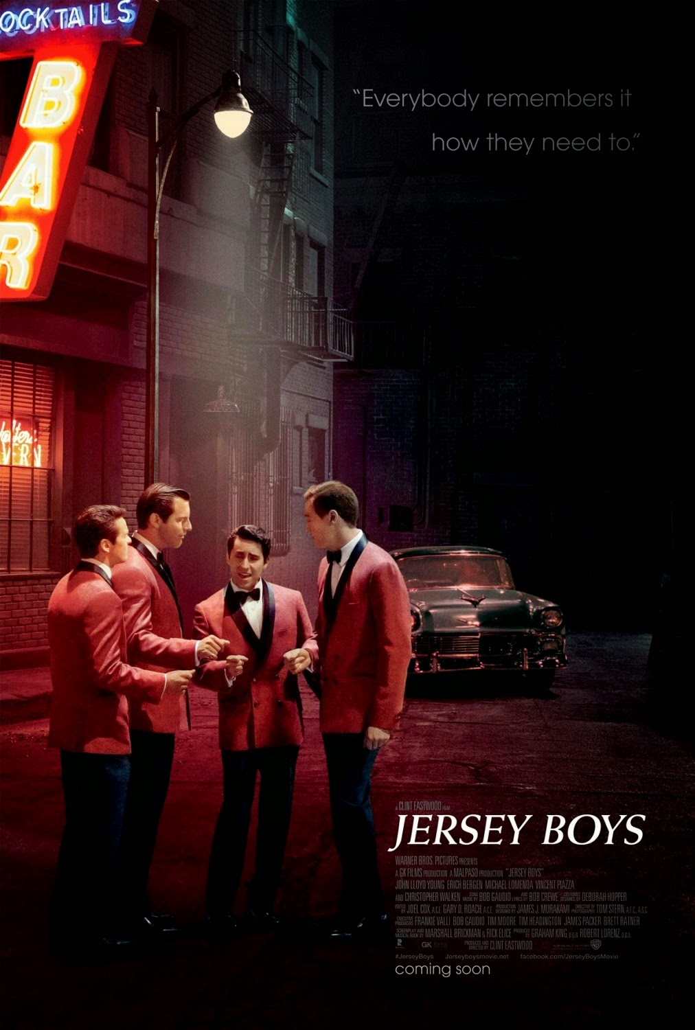 JERSEY BOYS - (2014) Clint Eastwood