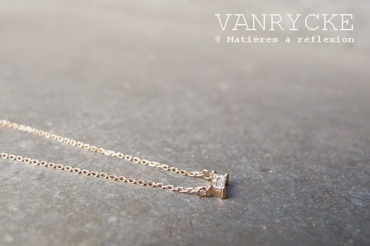 Collier diamant Vanrycke Nouvelle collection : le collier Georgia