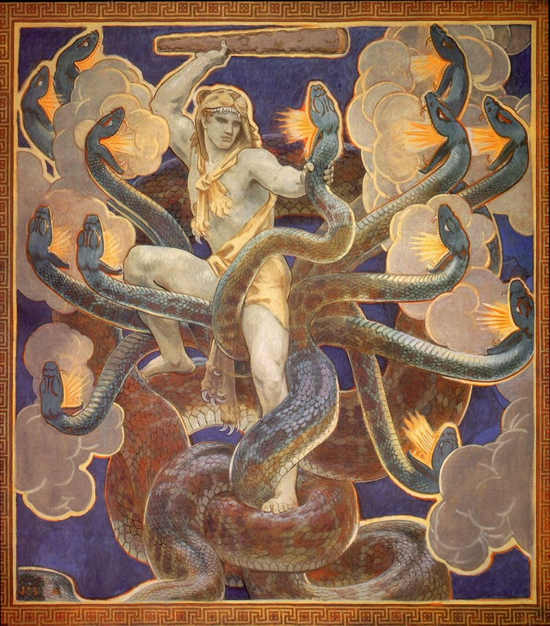 The Radical Virgo Name Your Poison Hydra In The Chiron Myth