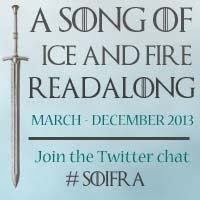 I'm joining the Song of Fire And Ice reading challenge