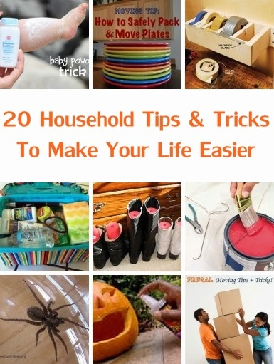 20 Household Tips & Tricks To Make Your Life Easier