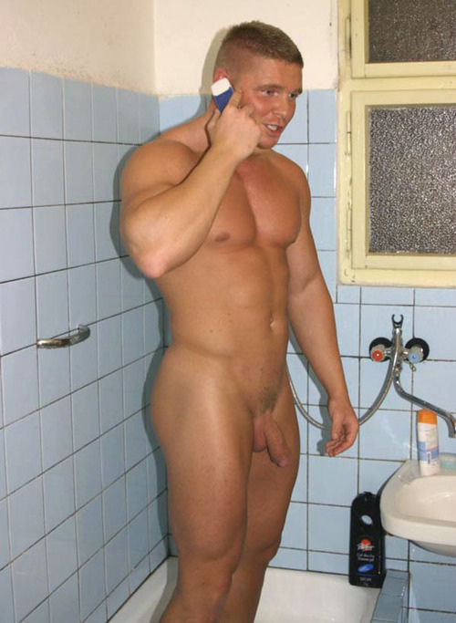 Think, hunks in shower naked