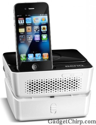 BenQ Joybee GP2 : A Projector with iPhone Doc
