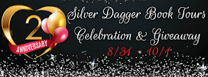 Silver Dagger Book Tours Two-Year Anniversary Celebration - 10 September