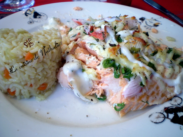 la cuisine de nathalie gratin de saumon express