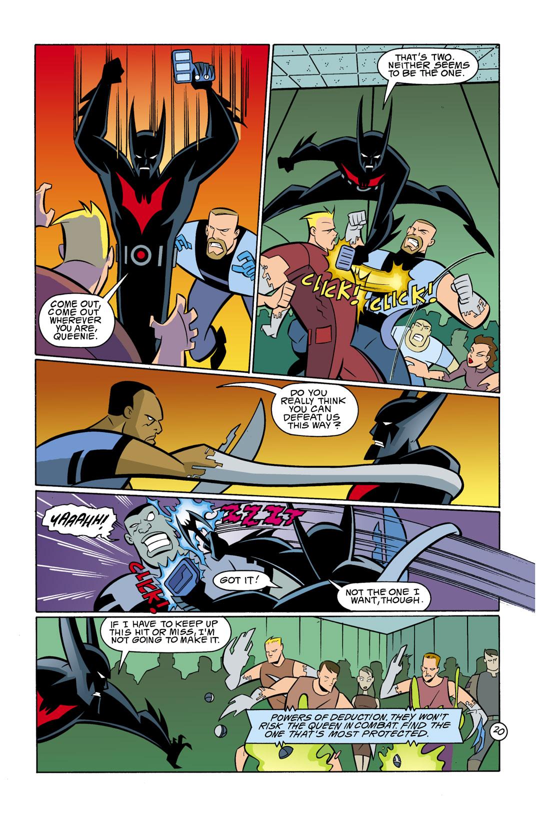 Batman Beyond [II] Issue #11 #11 - English 21