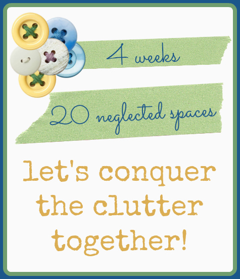 4 weeks, 20 neglected areas. Let's conquer the clutter together. www.aswellplacetodwelll.com