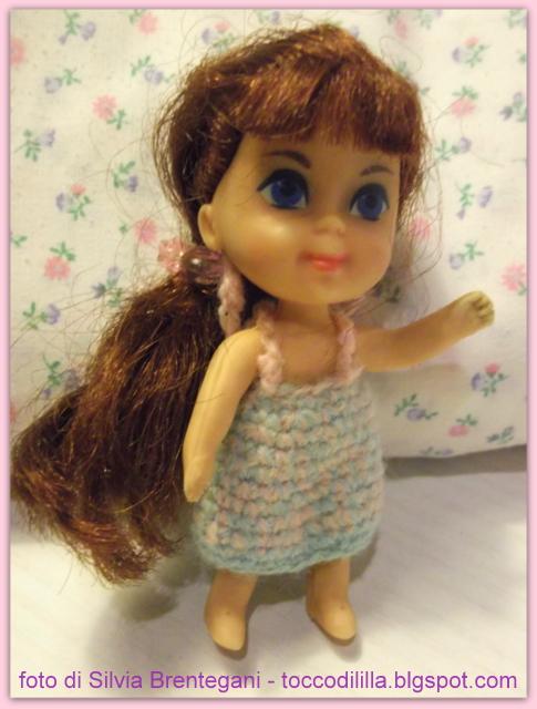 Tocco di li 39 lla 39 casetta delle bambole dolls house fai da te for liddle kiddles mattel 1967 - Giochi di baci in bagno ...