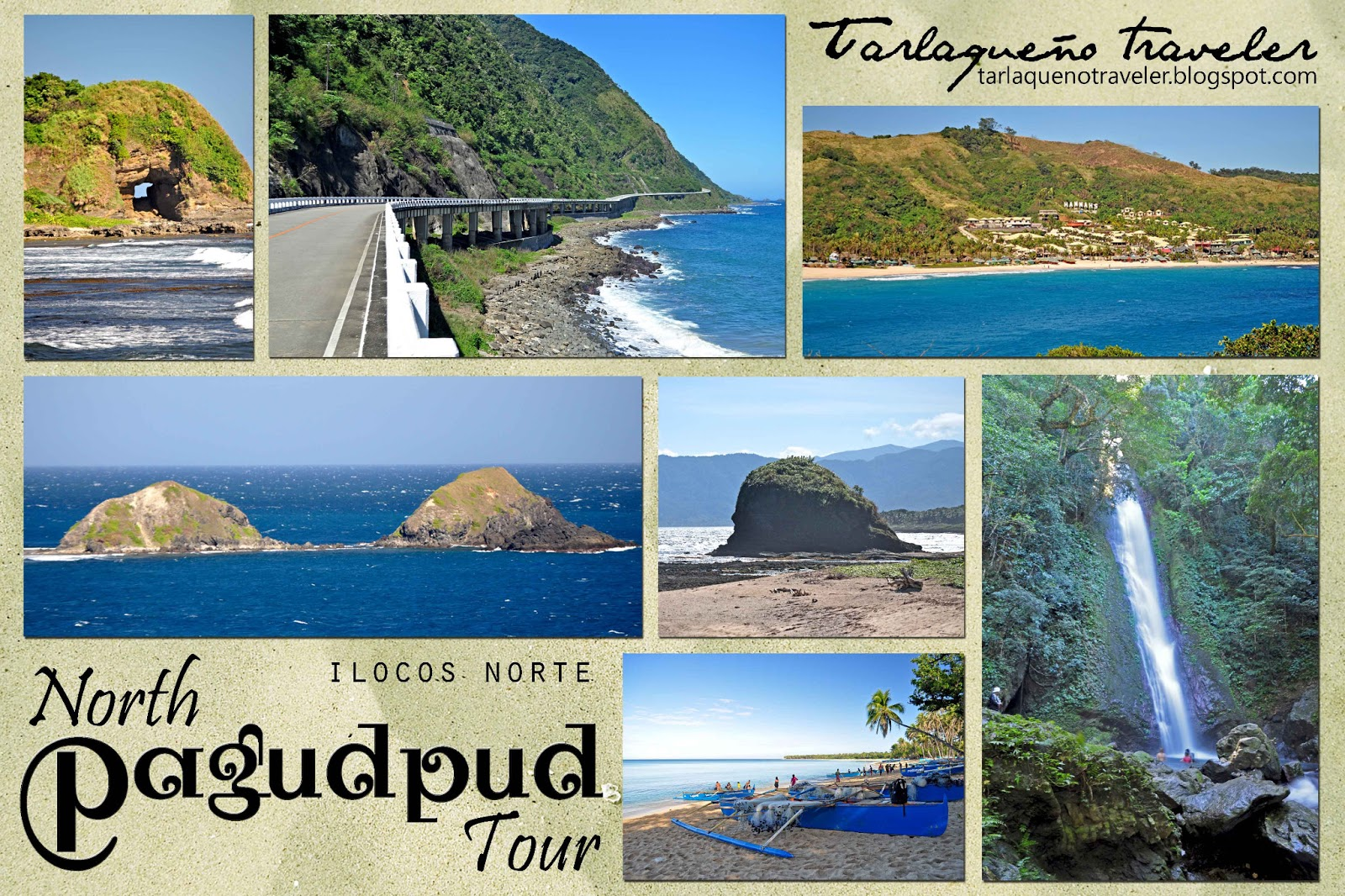 Nakakapagod Na Pagudpud Tricycle Tour Tarlaqueno Traveler