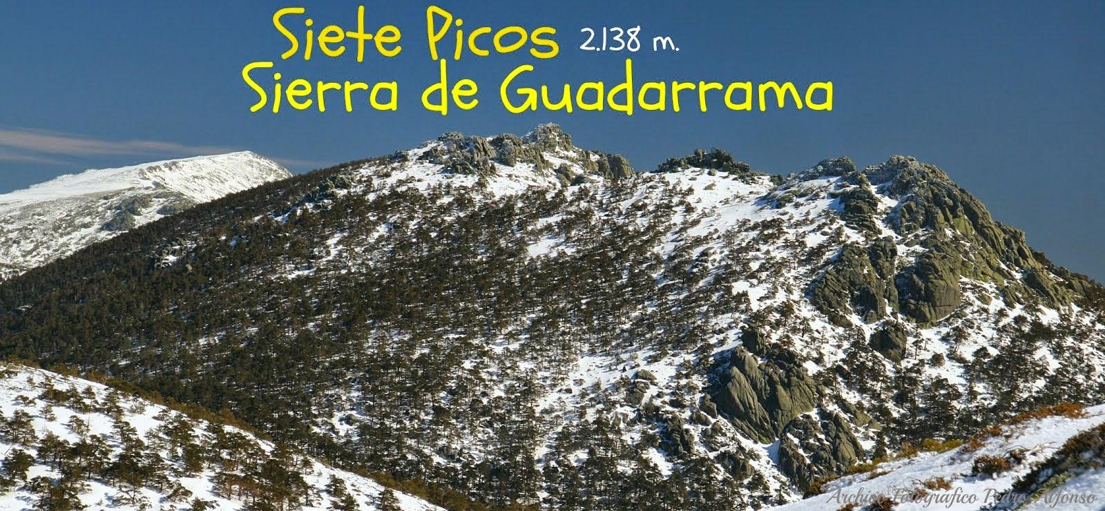 Siete Picos, la Sierra del Dragón